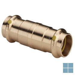 Viega profipress gas brons schuifmof dia 22 | 394189 | LAMO