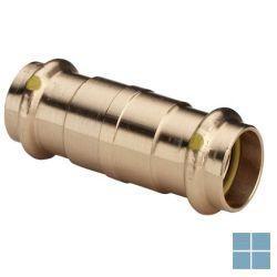 Viega profipress gas brons schuifmof dia 28 | 394196 | LAMO