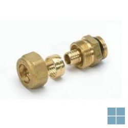 "Begetube chr cv vpe aansluitnippel 1/2"" m (o-ring) x 16x2 mm 