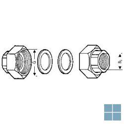 Wilo raccord paar koppeling koper 2f x 5/4f | 4092742 | LAMO