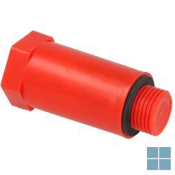 Wavin bouwstop 1/2 m rood | 438.87.01122 | LAMO