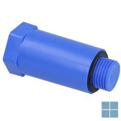 Wavin bouwstop 1/2 m blauw | 438.87.02122 | LAMO