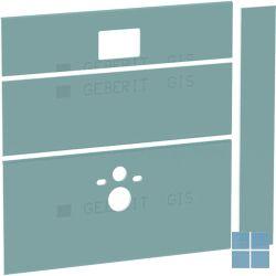 Geberit giseasy platen voor hangwc | 442.331.00.1 | LAMO