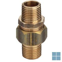 Viega brons koppeling dia 3/4m x 3/4m | 446895 | LAMO