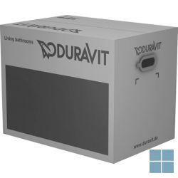 Dur. d-code hangtoilet 54.5x35.5 cm + softclosezitting wit keramiek | 45350900A1 | LAMO