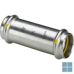 Viega inox gas schuifmof dia 22   487058   LAMO