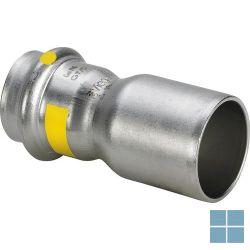 Viega inox gas verloopstuk dia 35f x 28f   487171   LAMO