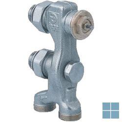 Jaga pro ventiel tweepijps recht ( grond ) m24 | 5094.4414 | LAMO