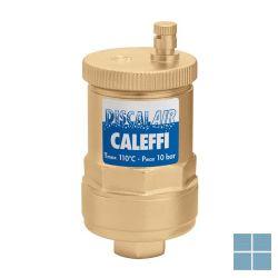 Caleffi discal automatische ontluchter messing 1/2 | 551004 | LAMO