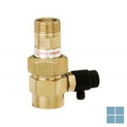 Caleffi kapventil met terugslagklep en aftap 6 bar 3/4 | 558510 | LAMO