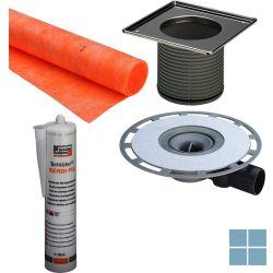 Viega advantix systeem 100 vloersifon met rooster met kerdi | 565701 | LAMO