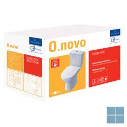 V&b o.novo staand verticale afvoer pack  compleet wit keramiek | 5661W301 | LAMO