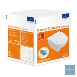 V&b o.novo hangtoilet comp.directflush softclose 36x49 wit keramiek | 5688HR01 | LAMO