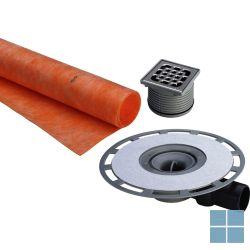 Viega advantix systeem 100 vloersifon supervlak met kerdi + rooster 100 x 100mm | 571665 | LAMO