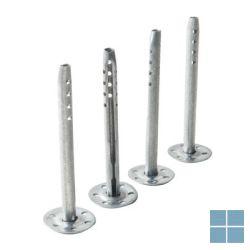 Isox slagplug verzinkt dikte 80 mm 50 st/verp ( prijs/st )   6001050080   LAMO