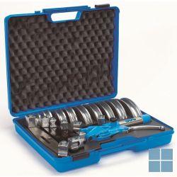 Begetube koffer plooitang alpex 14-32 mm (blauw) | 618.005.100 | LAMO