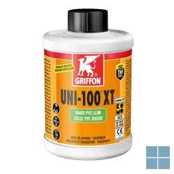 Bison/griffon pvc lijm uni-100xt 250 ml (voor druk pvc)   6300231   LAMO