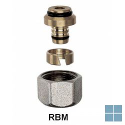 Rbm knelkoppeling pex - buis 16 | 701600 | LAMO