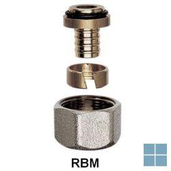 Rbm knelkoppeling pe - buis 16 x 2.2 | 711640 | LAMO