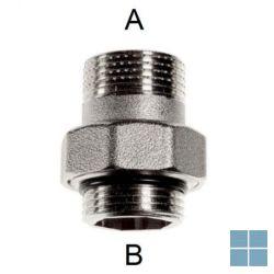 Rbm 3 - delige koppeling 1/2 x 1/2 | 720400 | LAMO