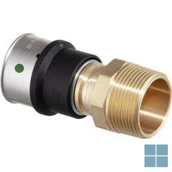 Viega smartpress brons overgangsstuk dia 20 x 1/2m | 729554 | LAMO