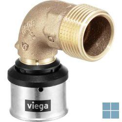 Viega smartpress brons bocht 90° dia 20 x 1/2m | 729714 | LAMO