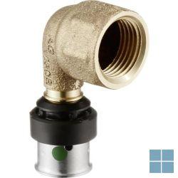 Viega smartpress brons bocht 90° dia 20 x 3/4f | 730376 | LAMO