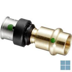 Viega smartpress brons overgangsstuk dia 16 x 15 | 730451 | LAMO