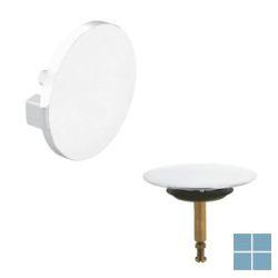 Viega multiplex afwerkset  visign m5, draairozet & stop, design-wit | 735883 | LAMO