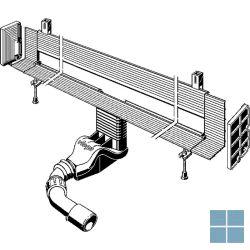 Viega advantix vario douchegoot lengte aanpasbaar wandafvoer dn40/50 300-1200mm | 736552 | LAMO