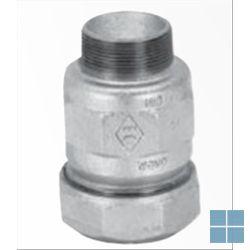 Galvabuis klemkoppeling 1/2 x 1/2 m | 746A5003 | LAMO