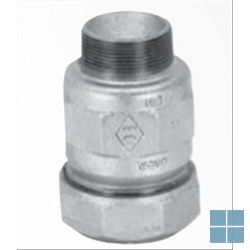Galvabuis klemkoppeling 5/4 x 5/4 m | 746A5006 | LAMO
