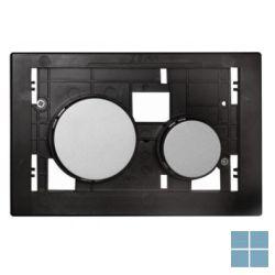 Teceloop bedieningseenheid toetsen chroom mat | 9240665 | LAMO
