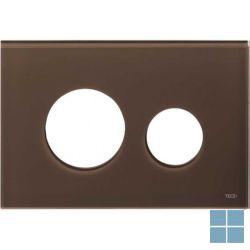 Teceloop bedieningsfront glas koffiebruin | 9240678 | LAMO
