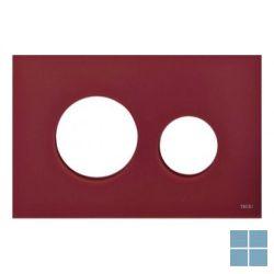 Teceloop bedieningsfront glas robijnrood | 9240679 | LAMO