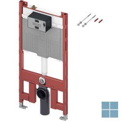 Teceprofil wc-inbouwframe, octa ll-spoelkast, 8cm, h112cm, + aansluitset/bevest. | 9300500 | LAMO