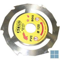 Arymex schijf speedy voor hout / pvc dia 125 | A105020 | LAMO