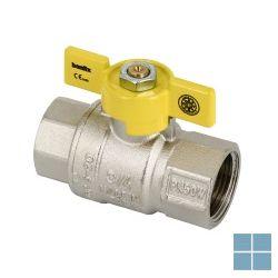 Aardgaskraan 1/2 ff koper aardg/buta/propaan | A12FFK | LAMO