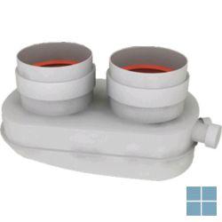 Bulex opalia F adapter alu-alu Ø 2 x 80 | A2035900 | LAMO