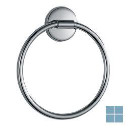 Inda colorella handdoekring chroom | A2316TCR | LAMO