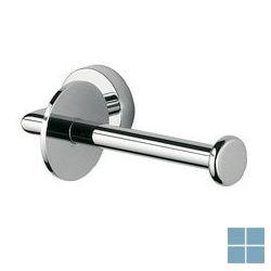 Inda forum toiletrolhouder zonder klep chroom | A36250CR | LAMO