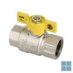 Aardgaskraan 4/4 ff koper aardg/buta/propaan | A44FFK | LAMO