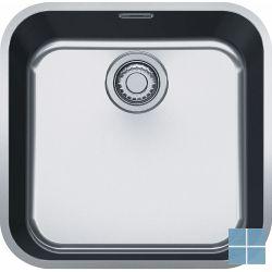 Franke ariane onderbouw-glad 465x456 mm inox | ARX1104351 | LAMO