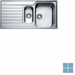 Franke ascona inbouw-glad-omkeerbaar 1000x510 mm inox | ASX6511 | LAMO