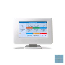 Honeywell evohome bedieningseenheid met kleuren touchscreen wifi geintegreerd | ATC928G3000 | LAMO