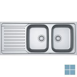 Franke antea inbouw-glad-omkeerbaar 1160x500 mm inox | AZX6211 | LAMO