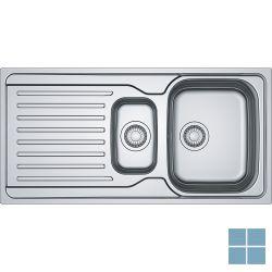 Franke antea inbouw-glad-omkeerbaar 1000x500 mm inox | AZX6511 | LAMO