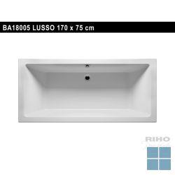 Riho lusso inbouwbad duo 170x75 cm wit | BA18 | LAMO