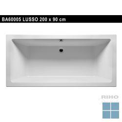 Riho lusso inbouwbad duo 200x90 cm wit | BA60 | LAMO