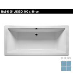 Riho lusso inbouwbad duo 190x90 cm wit | BA99 | LAMO